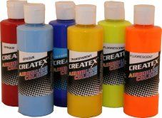 Classic airbrush Colours TRANSPARENTS